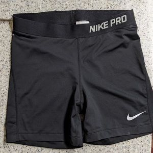 Women's Nike Pro compression shorts